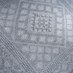Оренбургский пуховый узор «Червонки» и сайт для создания схем вязания