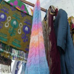 Узбекские пуховые изделия