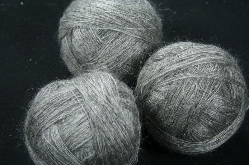 О вязании пуховых платков