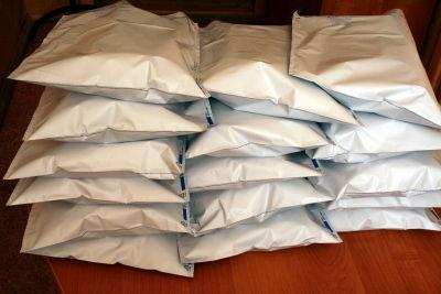 Отправление платков тысячникам