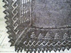 Платок пуховый