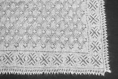 Оренбургский ажурный платок
